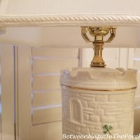 A Belleek Castle Lamp Gets a Major Makeover: The Before & After