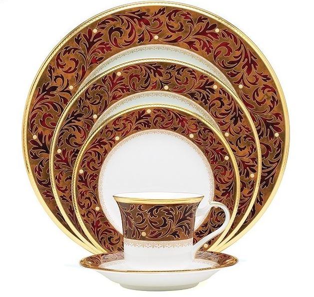 Noritake Xavier Gold Dinnerware