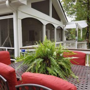 Screened Porch, Decks, Deck Furniture