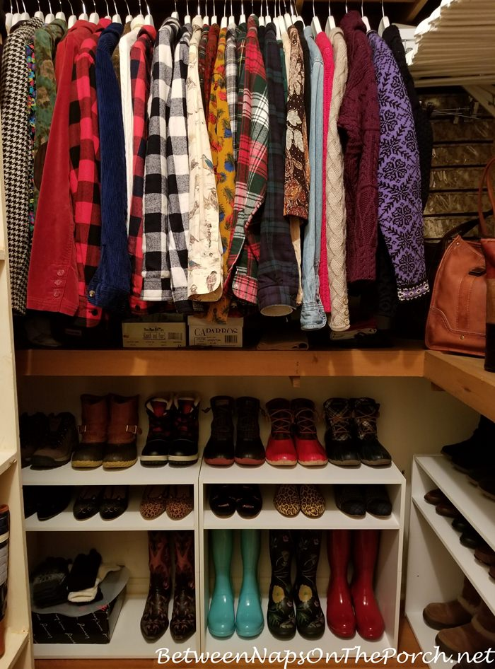 Winter Clothes and Boot Storage