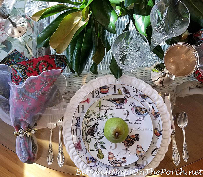 12 Days of Christmas Tablescape with Better Homes & Garden 12 Days of Christmas Dinnerware