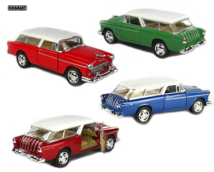 1955 Chevy Nomad Die Cast Cars
