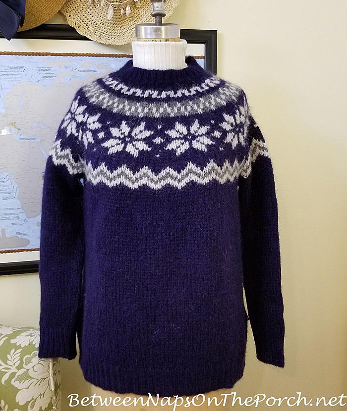 Barbour Harriet Fair Isle Sweater & Sundance Legends Ribbed Turtleneck