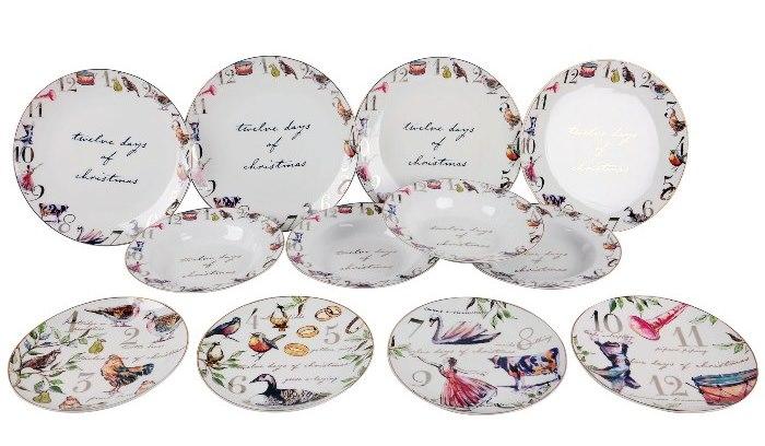 Christmas Dinnerware, 12 Days of Christmas, Better Homes & Garden