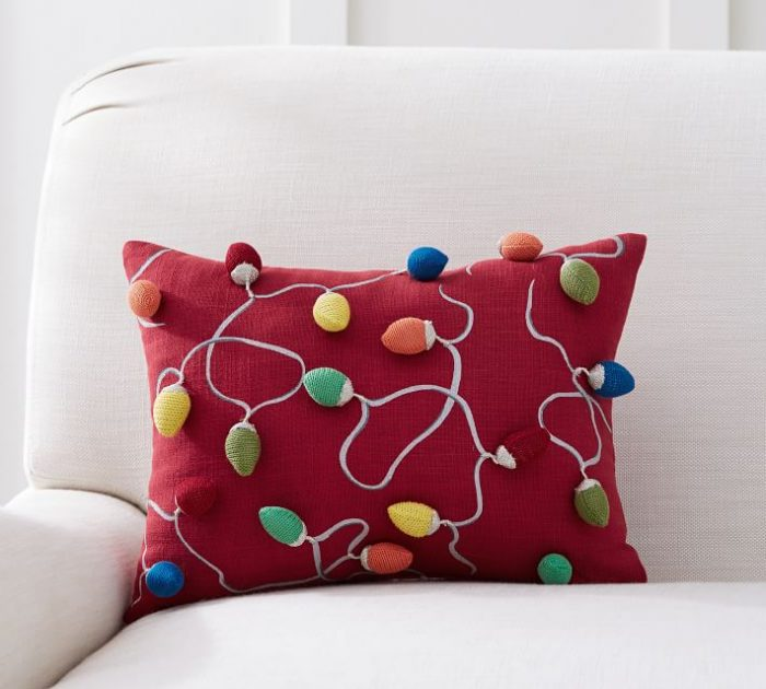 Christmas Lights Pillow