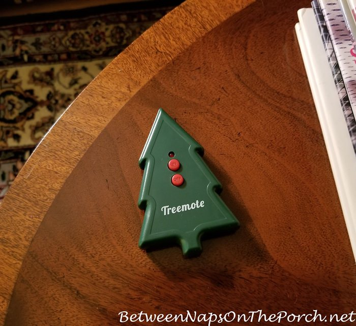 Christmas Tree Remote in Christmas Tree Shape