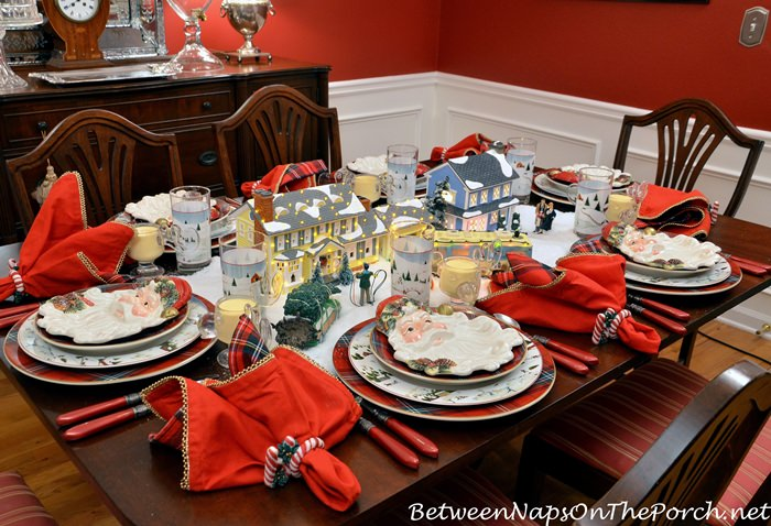 Christmas Vacation Christmas Tablescape