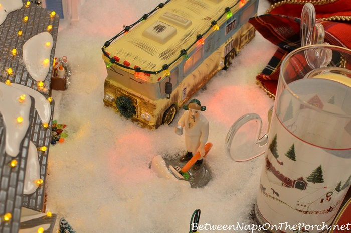 Christmas Vacation, Cousin Eddie, Dept 56