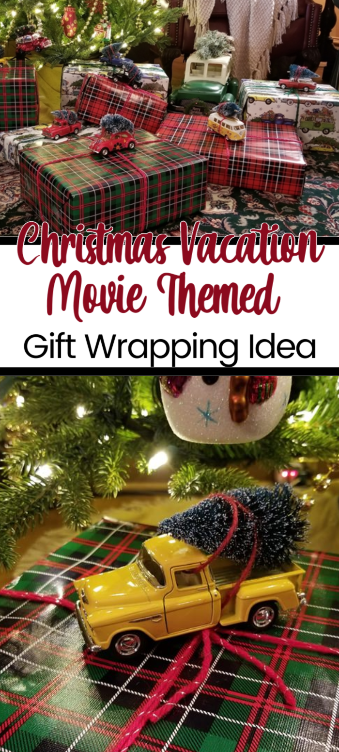 Christmas Vacation Gift Wrapping