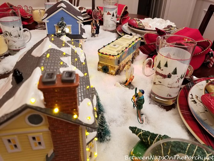 Christmas Vacation Table Setting, Dept. 56