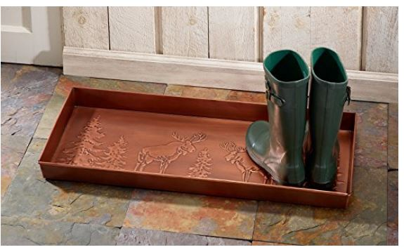 Cute Moose Boot Tray