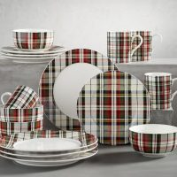 Denver Plaid Dinnerware