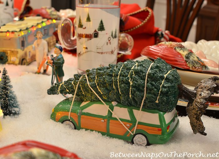 dept 56 christmas vacation griswold family tree