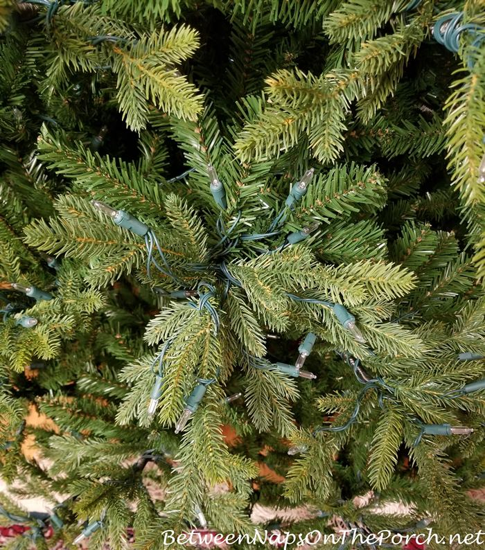 GE Canadian Fir Tree with Easy Light System, Very Realistic