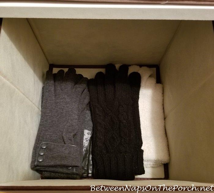 Glove Storage Bin