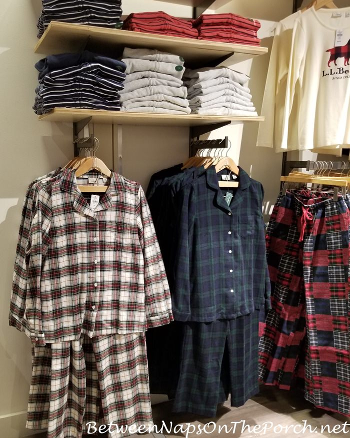 L.L. Bean Flannel Pajamas