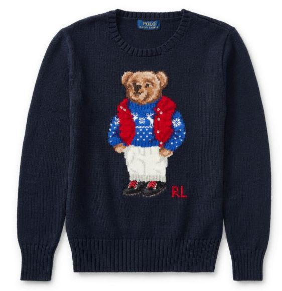 Polo Bear with Sweater