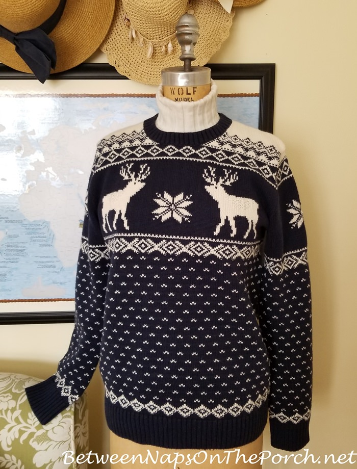 Ralph Lauren Reindeer Cotton Wool Sweater