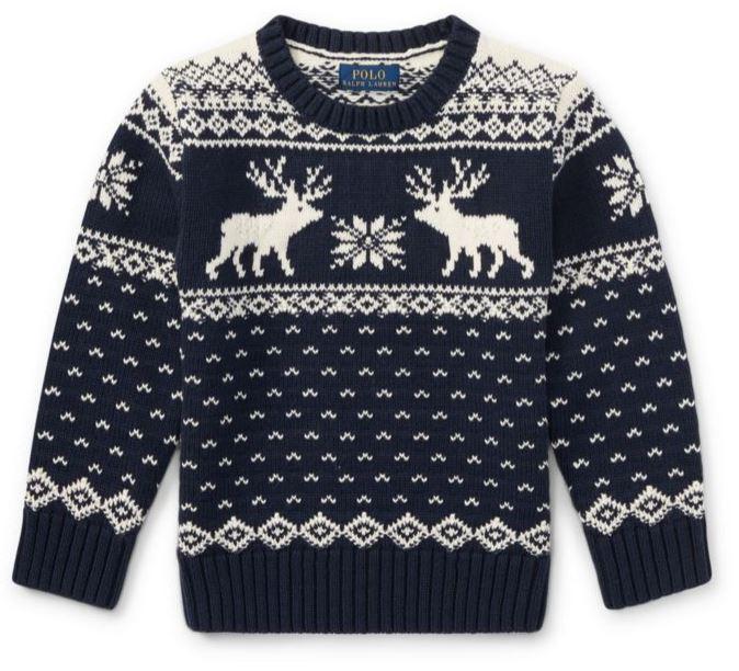 Ralph Lauren Reindeer Sweater