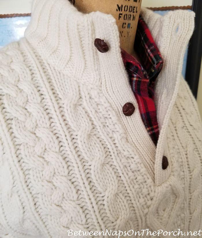 Ralph Lauren Wool Cashmere Sweater, Cream