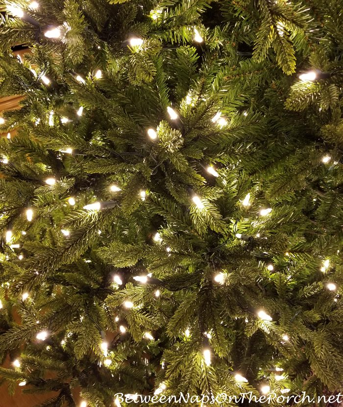 Realistic GE Canadian Fir Tree, 1,000 Lights, 4,963 Branch Tips