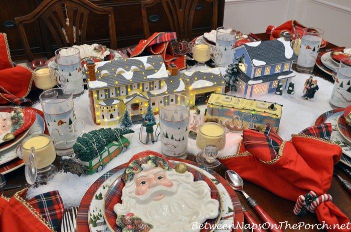 Santa Plate, Christmas Collection, Old Saint Nick