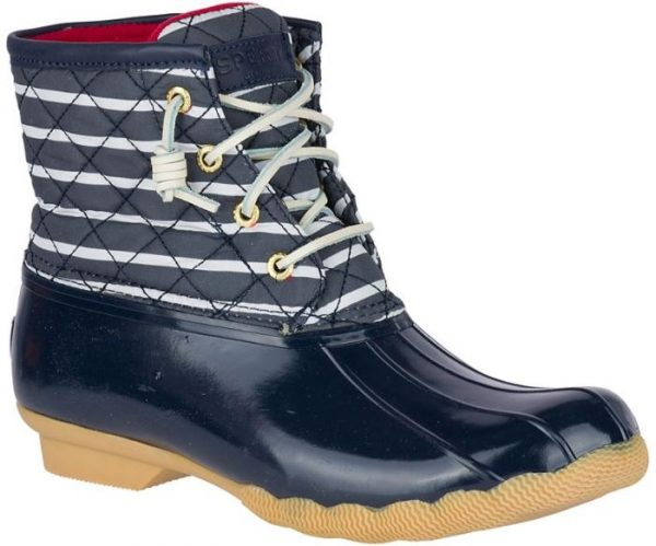 Sperry Duck Boots, Nautical Stripe