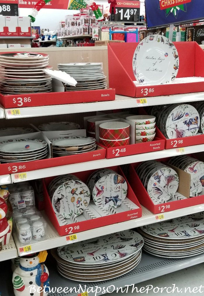 12 Dyas of Christmas Dinnerware by Better Homes & Gardens China