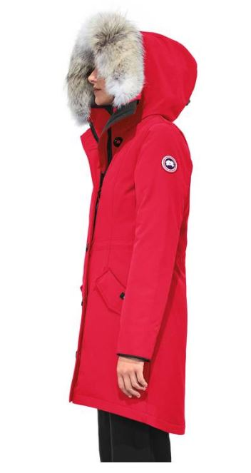 Canada Goose Rossclair Parka, Side View
