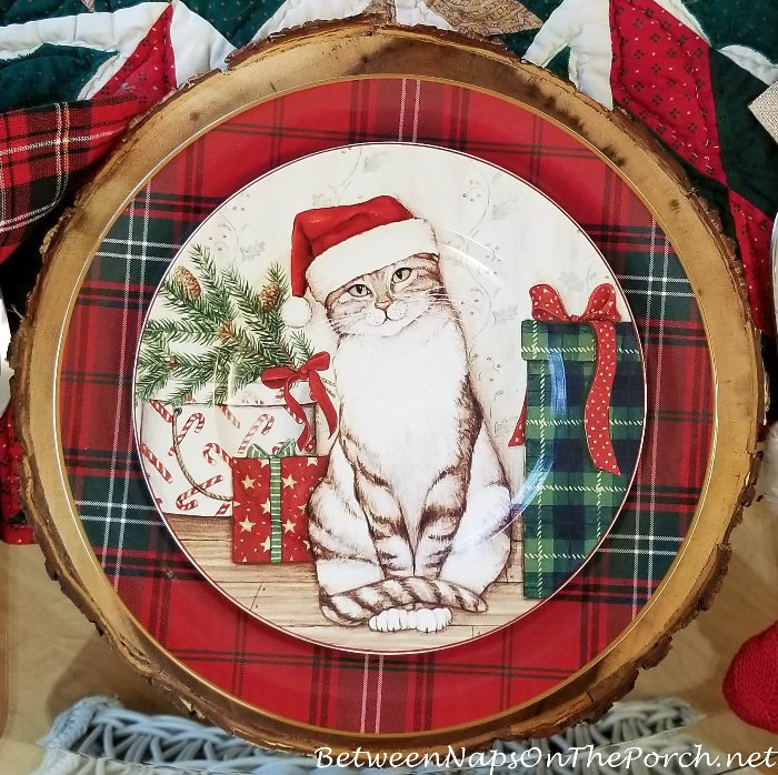 Christmas Dinnerware for Cat Lovers