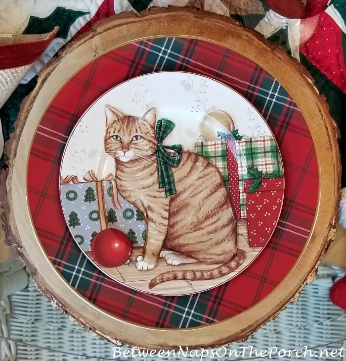 David Carter Brown's Christmas Dinnerware, Christmas Kitties