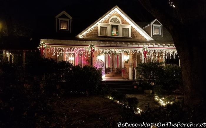 Historical Home, Marietta, GA, Christmastime