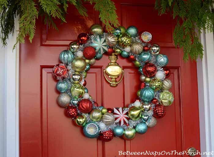 Martha Stewart Ornament Wreath