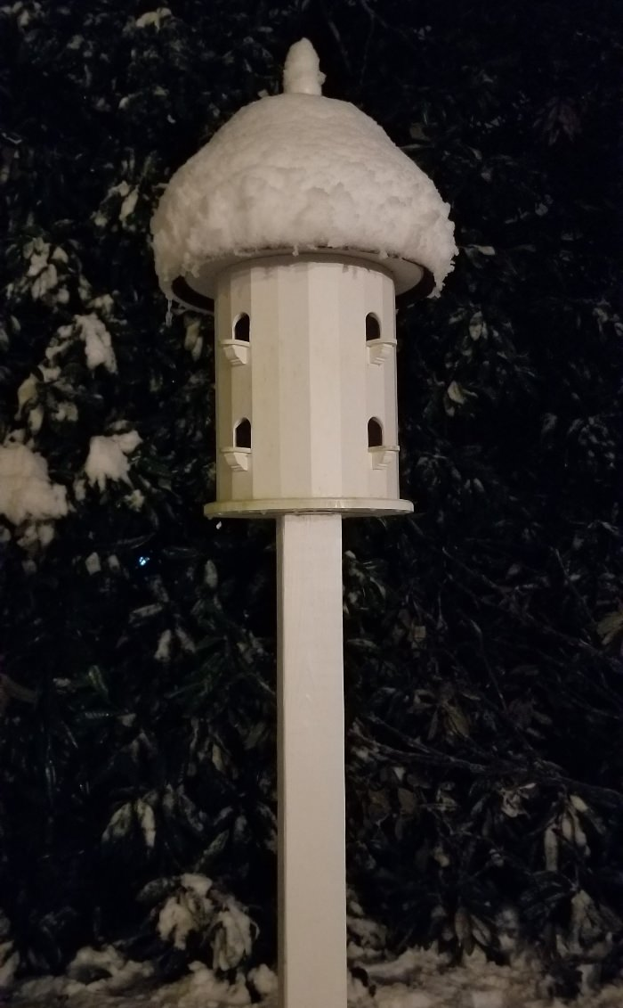 Snow-Covered Lazy Hill Dovecote