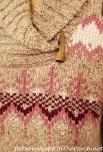 Making Progress & A Favorite Sweater Is On Sale
