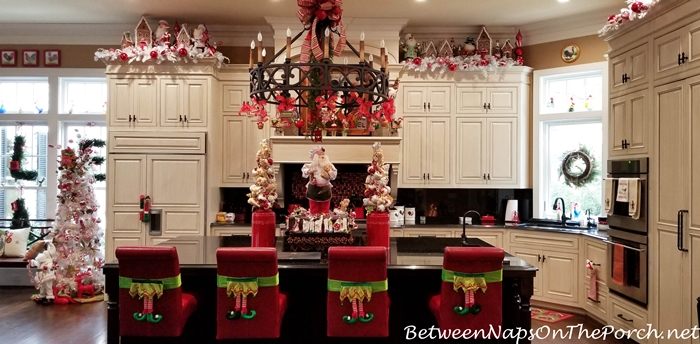 Beautiful Christmas Kitchen