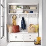 The Perfect Mudroom Hall Tree with Bench, Drawers & Cubbies