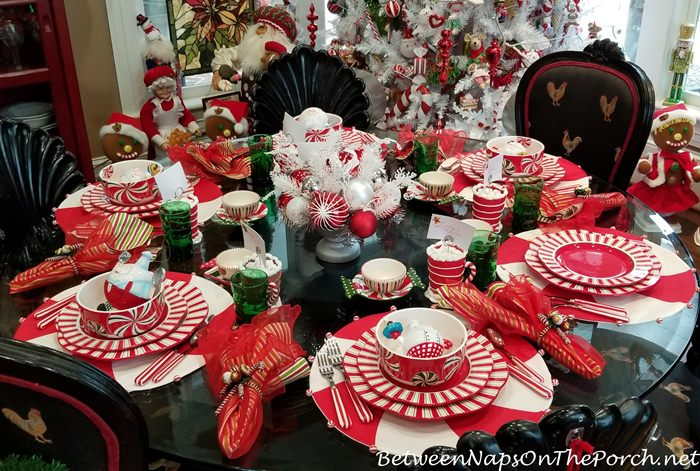 A Peppermint Candy Fantasy Table Amp Kitchen
