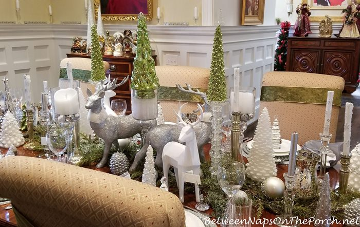 Elegant Centerpiece for Christmas Dining