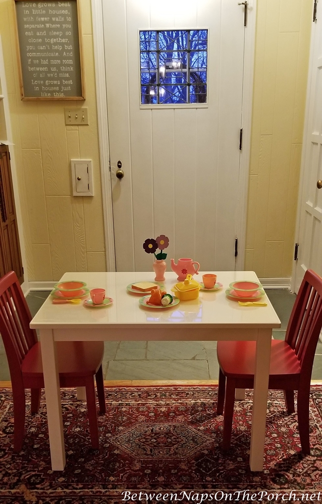 Pottery Barn Kid's Table and Chairs