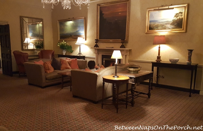 Ballynahinch Castle Sitting Room