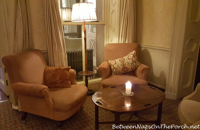 Cozy Seating Area, Ballynahinch Castle