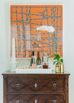 Frame a Hermes Silk Scarf with Museum Glass for Maximum Protection and Clarity
