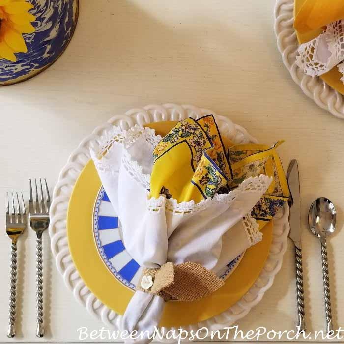 Noritake Colorwave in Yellow for a Spring Easter Table Setting