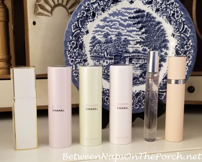 Perfume Atomizers, Chanel, Hermes & Viktor & Rolf