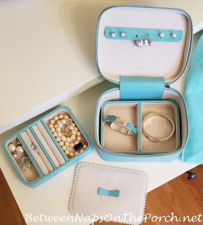 Tiffany & Co Leather Jewelry Case, Perfect for Travel