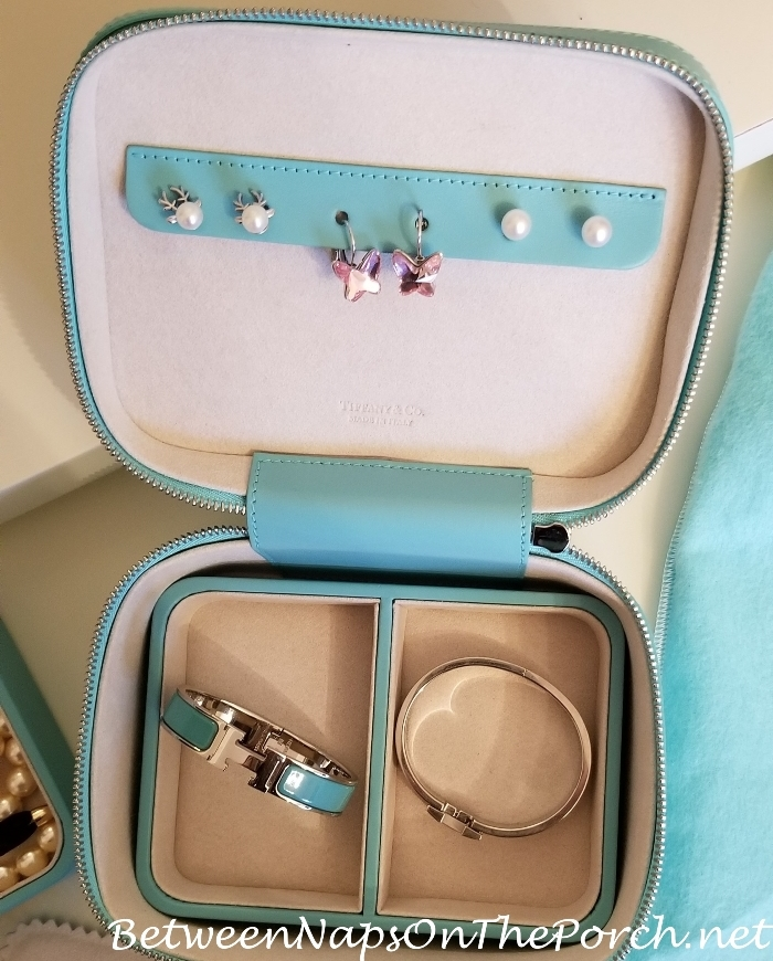 Tiffany & Co. Travel Jewelry Box-Case