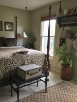 A Safari, Travel-Inspired Bedroom Guaranteed to Delight Any Guest