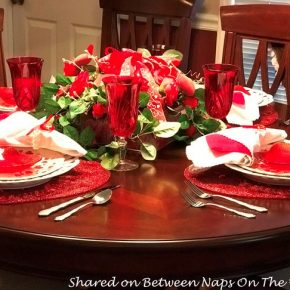 Valentine's Day Table for Four
