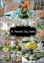 St. Patrick's Day Table Settings, Through the Years